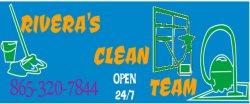 Riveras Clean Team Logo