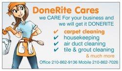 Done Rite Cares Logo
