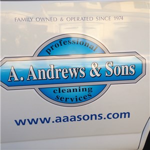 A Andrews & Sons Professional Cleaning Logo