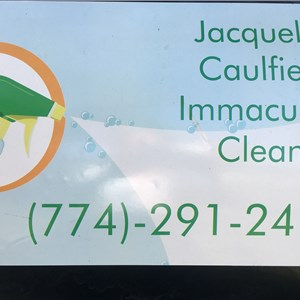 Jacqueline Caulfields Immaculate Cleaning Logo