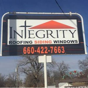 Integrity Roofing Siding Windows and Guttering Logo