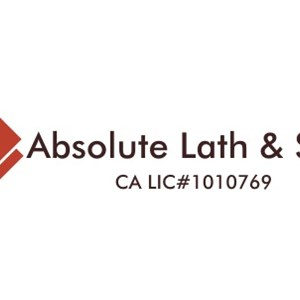 Absolute Lath & Stucco Logo