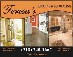 Teresas Flooring & Decorating Logo