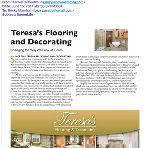 Teresas Flooring & Decorating Logo