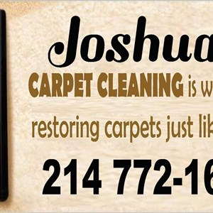 Joshuas Carpet Cleaning Logo