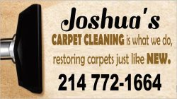 Joshuas Carpet Cleaning Logo
