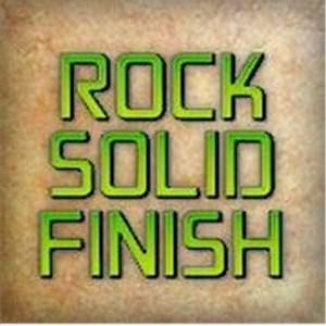 Rock Solid Finish Logo