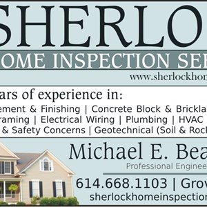 Sherlock Home Inspection Services Logo