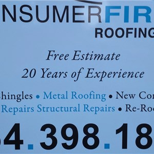 Consumer First Roofing LLC Cover Photo