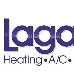 Laganas Plumbing & Heating Logo
