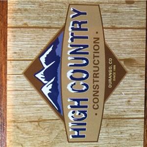 High Country Construction Of Durango Logo