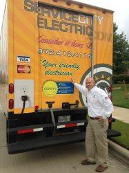 Service City Electric Logo