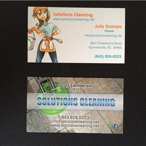 Solutions Cleaning Logo