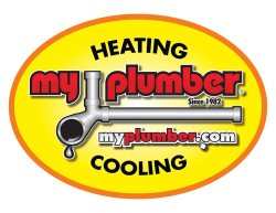 My Plumber Heating & Cooling Logo