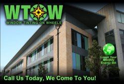 Window Tinting on Wheels, LLC Logo