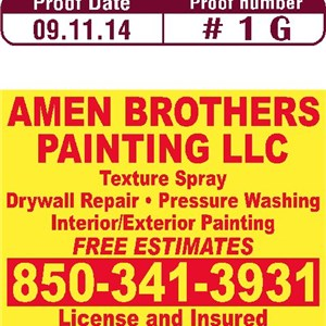 Amen Brothers Painting LLC Cover Photo