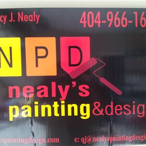 Nealys Painting & Design,llc Logo