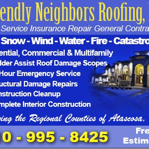 Friendly Neighbors Roofing Cover Photo