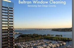 Beltran Window Cleaning & Janitorial Logo