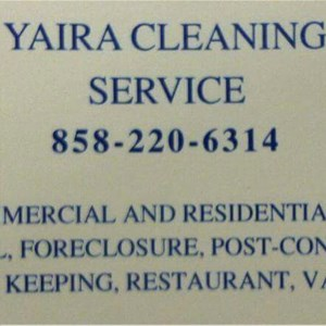 Yaira Cleaning Service Logo