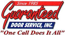 Guaranteed Door Service, Inc. Logo