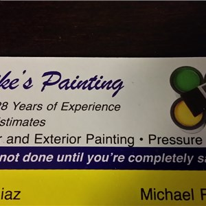 Mikes Painting Logo