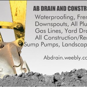 AB Drain And Construction, LLC. Cover Photo