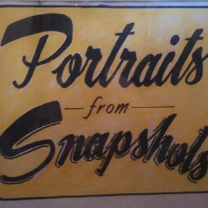 Portraits From Snapshots Logo