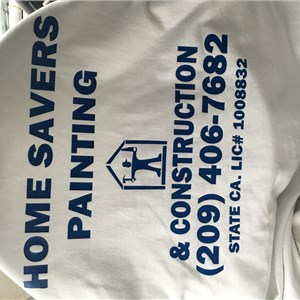 Home Savers Painting And Construction Logo