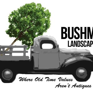 Bushman Landscaping Logo