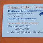 Priority Office Cleaners Logo