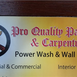 Pro Quality Painting & Carpentry Logo