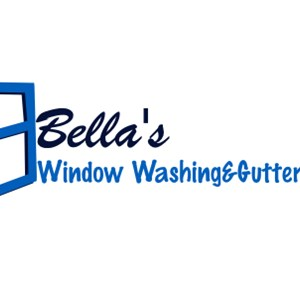 Bellas Window Washing & Gutter Cleaning Logo