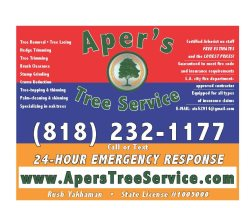 Apers Tree Service Logo