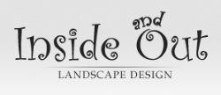 Inside And Out Landscape Design Logo