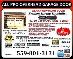 All Pro Overhead Garage Doors