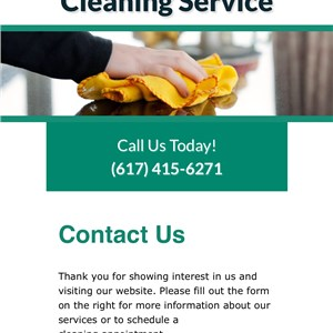 A new beginning cleaning service Logo