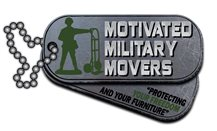 Motivated Military Movers Logo