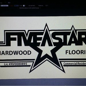 Five Star Hardwood Flooring Logo