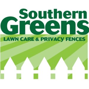Southern Greens Lawn Care and Fence Logo