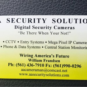 A Security Solutions Cover Photo