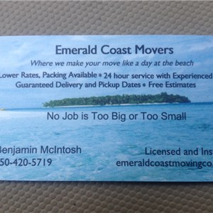 Emerald Coast Movers Cover Photo