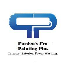 Purdons Pro Painting Plus Logo