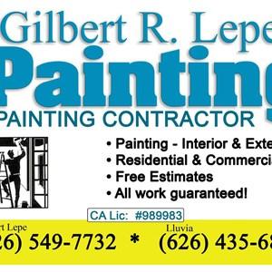 Gilbert R Lepe Painting Logo