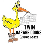 Twin Garage Doors Logo