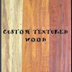 Custom Textured Wood Cover Photo