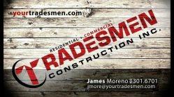 Tradesmen Construction Inc. Logo