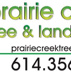 Prairie Creek Treescapes Logo