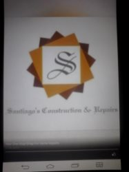 Santiagos Construction & Repairs Logo