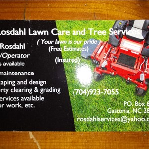 Rosdahls Lawn & Tree Services Logo